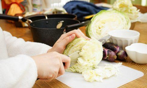 「キャベツ」が持つ優れた5つの栄養素と、選び方や保存方法